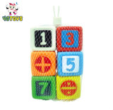 Custom Math Plastic Game Dice Educational Toy for Children