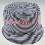 Cartoon Striped Lovely Bucket Hat (HY042638)
