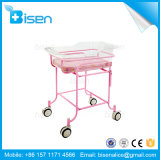 BS-Xf6063 High Quality Stainless Steel Baby Bassinet Baby Crib Baby Cot for Hospital with Beauty Design