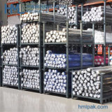 Stackable Huameilong Detachable Cheap Movable Steel Metal Fabric Roll Rack