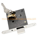 Lock Body Set Door Mortise Lock with Cylinder Round Bolt Roller Latch by Right&Left Hand Ironor Stainless Steel