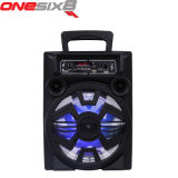 Karaoke Player Portable Professional Speaker Plastic Bluetooth Trolley Speaker with Mic