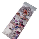 Soft Flower Print Velvet for Sofa Fabric/Furnishing Fabric