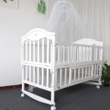 European Luxury Soft Comfortable Baby Cot Crib Bedding Sets with Bumper