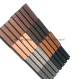 Factory Wholesales Price Outdoor Exterior WPC Louver/ Facade/ Wall Panel Wood Plastic Interior Composite Wall Cladding