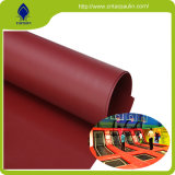 210d Printed Polyester Oxford PVC Coated Fabric Site Tarpaulins
