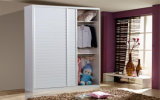 Sliding Door Wardrobe Wooden Closet Set (zy-001)