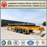 3 Axles 45FT Container Skeleton Semi Trailer at Competitive Prices
