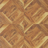 12.3mm HDF E1 Wood Composite Art Parquet Laminate Floor