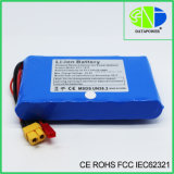 Customizable 25.2V 2.2ah X60 Plug Lithium Ion Battery for Medical Equipment