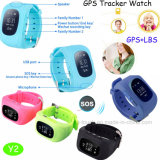 Cheap Q50 Kids GPS Tracker Watch with Take off Alarm (Y2)