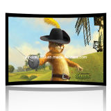 Curved Projection Screen/Curved Fixed Frame Projector Screen (CS133)