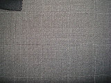 Wool Polyeter Suit Square Check Fabric