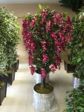High Quality Artificial Plants and Flowers of Westeria Gu-112130803