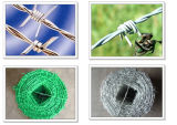 Galvanized Iron Barbed Wire in Electro and Hot-Dipped