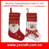 Christmas Decoration (ZY15Y034-1-2) White Christmas Santa Toy Children