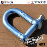 Zinc Plated Electro Galvanized JIS Type D Shackle