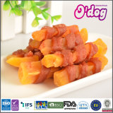Odog Popular Soft Chicken Wrap Sweet Potato for Pet Food