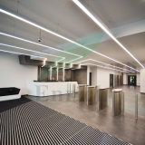 Simple and Fashion Design Suspended/Recessed LED Linear Luminaire with Dali Dimming