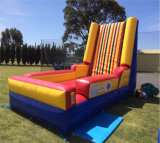 Inflatable Bounce Stick Wall with Suits Sport Game Jumping Castle