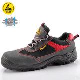Summer Breathable Suede Leather Safety Shoes Price with Steel Toe