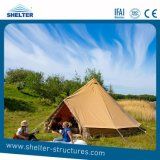 Outdoor Camping Glamping Yurt Tent Canvas 5m Bell Tents Waterproof