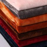 Velvet Polyester Furniture Curtain Sofa Cushion Seat Home Textile Fabric