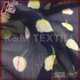 Custom Digital Printed Crinkle Georgette Fabric From Hangzhou Silk Fabrics Suppliers