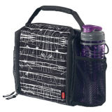 New Design Neoprene Lunch Cooler Tote Case with Bottle Holder