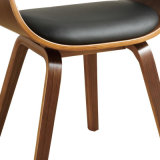 Walnut Veneered Bentwood Dining Chair (W15857-4)