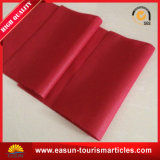 Hotel Pillow Cover with Red Color $ Customer′s Logo