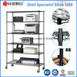 Wholesale 6 Layers Metal Wire Showroom Rack Shelf with High Quality