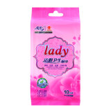 2017 Hot Sale Cheap Face Cleaning Lady Wet Wipes