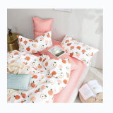 China Manufacturer Cheap Polyester Peach Skin Finished Bedsheet Fabric