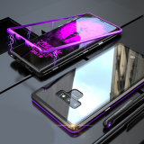 360 Full Cover Protected Metal Frame Tempered Glass Anti Scratch Anti-Fall Mobile Phone Cases for Samsung Note9