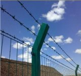 20kg/Roll Barbed Wire / PVC Coated Barbed Wire Fence Price Supply by Yaqi Factory