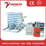 Plastic Film Folding and Rewinding Machine