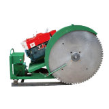 Track Rail Diesel Quarry Stone Block Cutting Machine