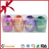 Plastic Curling Ribbon Egg for Christmas Decoration