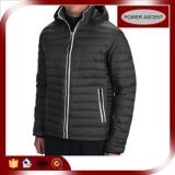 2015 Winter Men Adjustable Hood Contrast Color Down Jacket