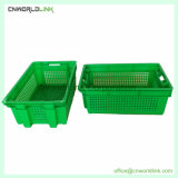 Food Grade Bread Fruit Vegetable Stackable and Nestable Perforated Box