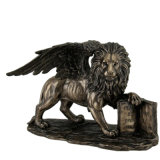 Hot Sale Cast Life Size Bronze Lion Sculpture for Gate Decoration