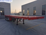 60 Ton Payload 3 Axle 40FT Cargo Flatbed Semi Trailer with Tractor Head for Container and Bulk Cargo Transportation