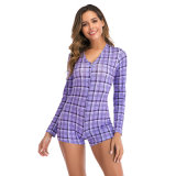 Purple Weed Sexy Onesie Pajama Nightwear for Adults Women