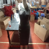 Beading Necklace Dress Final Random Inspection/ QC Quality Control for Evening Dress in Shanghai Factory