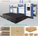 800t High Speed Cardboard Automatic Flat Bed Die Cutting Machine Price