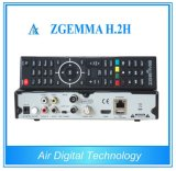 Enigma2 DVB-S2+T2/C Twin Tuners Combo Receiver Zgemma H. 2h