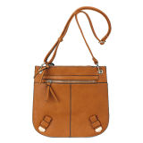 The Newest Fashion Trendy PU Leather Messenger Bag (MBNO035099)