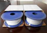 0.7-1.0g/cm3 PTFE Expand Gasket Tape, Teflon Expand Gasket Tape White Color and Backing Adhesive