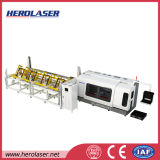 Automatic Feeding and Rotation Stainless Pipe Fiber Laser Cutting System